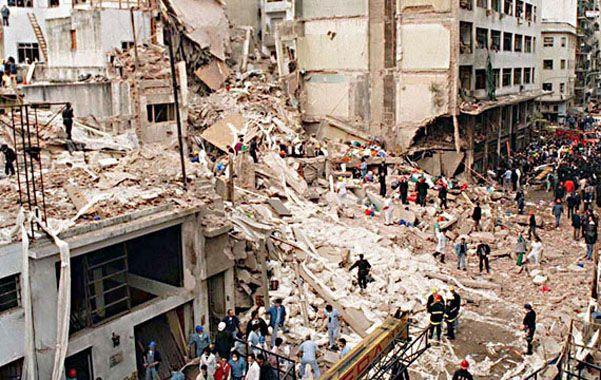 Atentado. El ataque a la mutual judía ocurrió el 18 de julio de 1994.