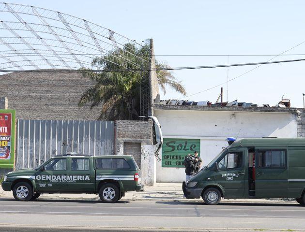 El operativo estuvo a cargo de las fuerzas de Gendarmería. (Foto: S. Salinas)