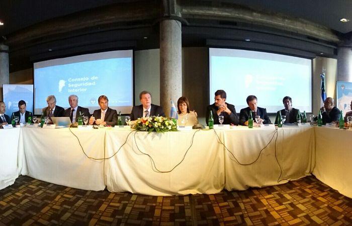 El Consejo de Seguridad Interior sesionó en Río Negro