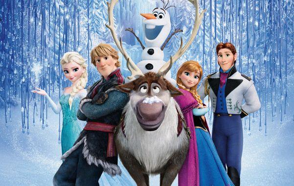 Un mundo congelado. El reno Sven y el muñeco de nieve Olaf son algunos de los personajes que se cruzan en el camino de la intrépida princesa Anna.