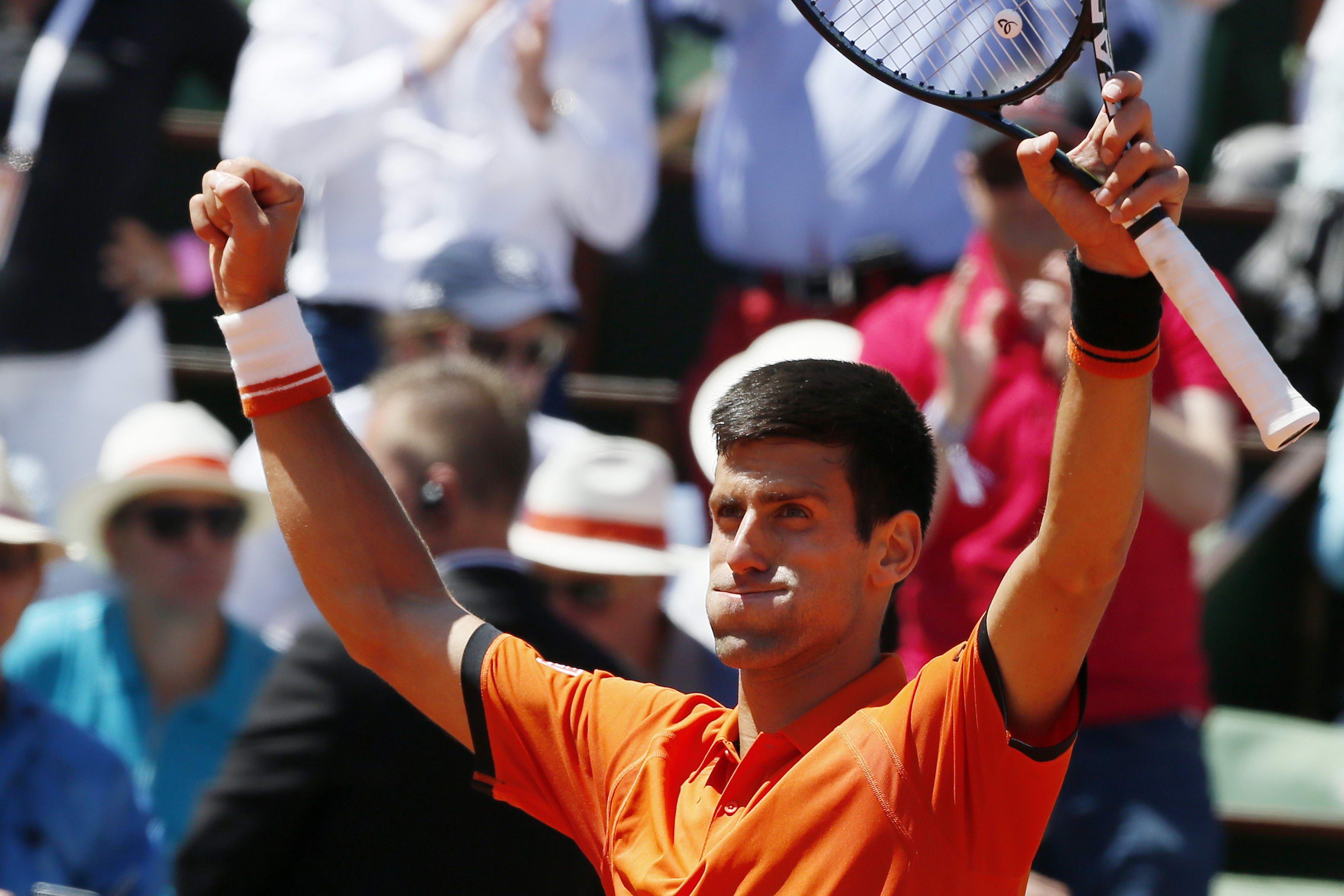 Djokovic superó a Murray y jugará la final de Roland Garros