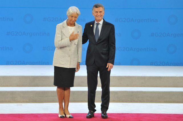 Prestamista. Christine Lagarde