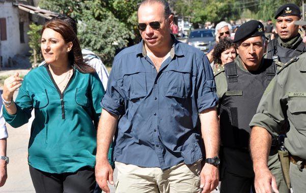 Meses atrás. Mónica Fein y Segio Berni supieron supervisar a la par la evolución del operativo de seguridad desplegado por las fuerzas federales en Rosario.