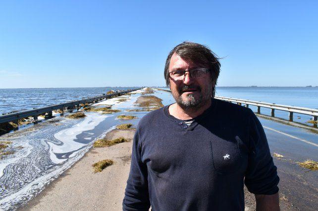 El presidente comunal de Aaron Castellanos.