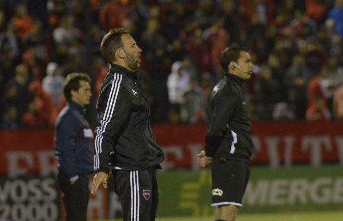 Lucas Bernardi dijo que fue un partido compartido. (Foto: S. Suárez Meccia)