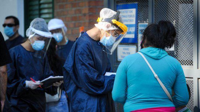 Hubo 520 casos nuevos en Rosario, de los 1.321 que se reportaron en la provincia de Santa Fe