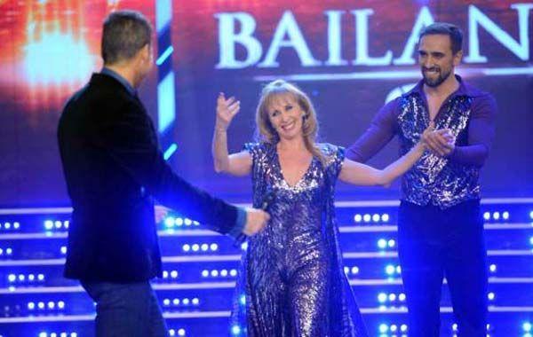 La bailarina fue la primera participante de esta nueva etapa del programa.