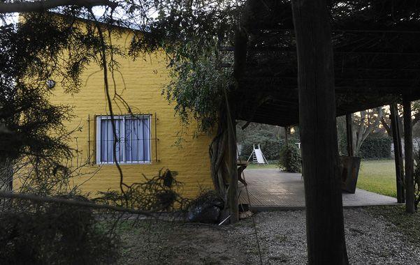 En Funes. Esta casa sencilla pero con un gran terreno