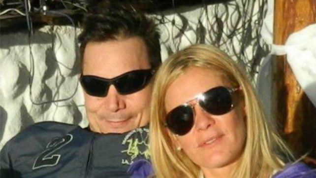 Luis Medina y su ex Daniela Ungaro
