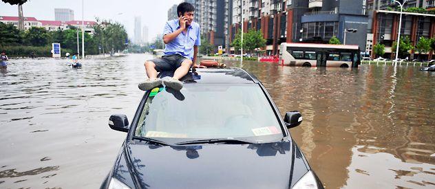 Las lluvias de los últimos días en Guangxi