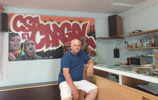 Eduardo Colo Fernández ex preso político y actual gestor cultural en el Centre Social Autogestionat El Cargol en Tarragona