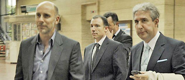 El juez Alejandro Martín (centro)