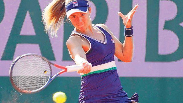 Podoroska comenzó el año como 258ª del ranking WTA y tras su actuación en París llegó al puesto 48.