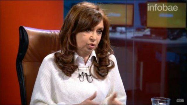 Cristina habló de su patrimonio y se quebró cuando recordó los bolsos de José López