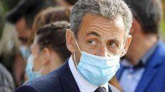 Nicolas Sarkozy durante los alegados del juicio por corrupción.