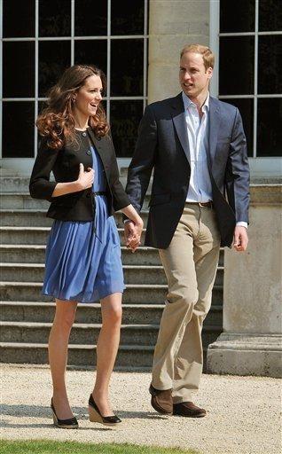 El príncipe Guillermo y su esposa Kate Middleton se fueron de luna de miel