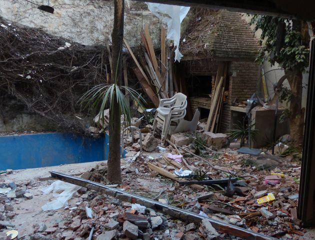 La explosión causó daños irreversibles a numerosas viviendas de la zona. (Foto: A. Amaya)