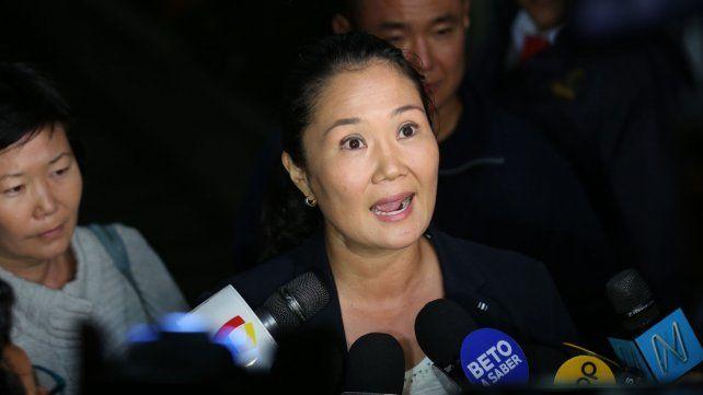 Sospecha. Keiko Fujimori.