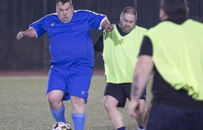 El verdadero fútbol para todos: crearon una liga para personas que sufren sobrepeso
