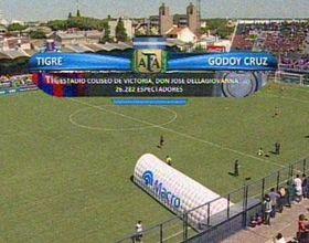 Godoy Cruz ganaba pero Straqcualursi hizo dos y le dio un empate de oro a Tigre