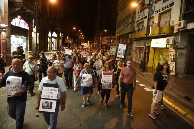 El 29 de febrero de 2016 se realizó una marcha en reclamo de justicia por Mercansín.