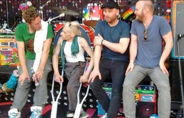 Marcelo Mastroinai cumplió su sueño y tocó junto a Coldplay en La Plata.