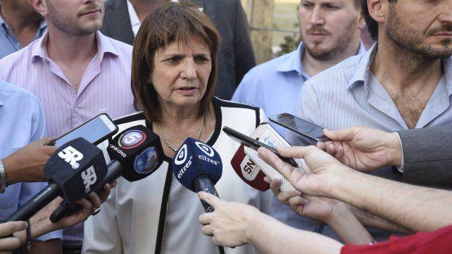Bullrich sospecha que el atentado contra el jefe de la Federal de Santa Fe fue un ataque mafioso