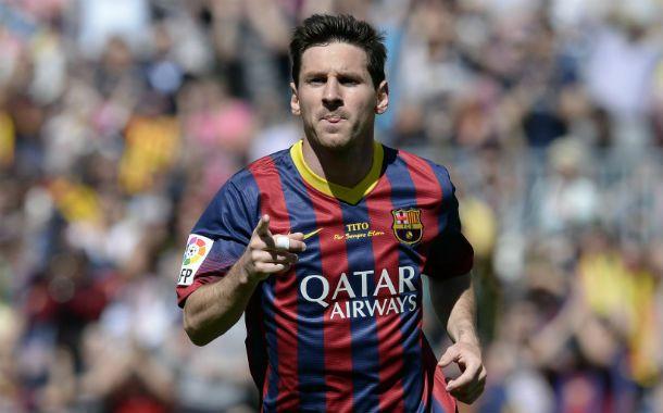 Messi no baja los brazos y va por otro título de liga con Barcelona.