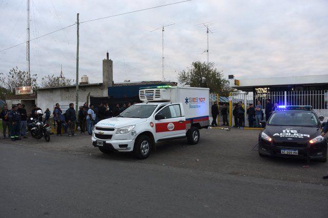 Trágico. Un delegado de la fábrica Electrolux murió tras un enfrentamientos entre trabajadores en la puerta de la empresa.