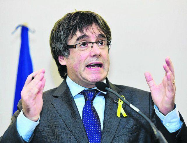 En el exilio. El ex líder catalán evitó su arresto al trasladarse a Bruselas.