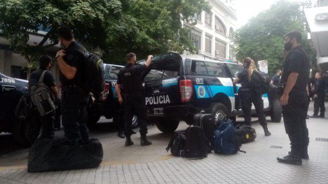 Arribaron a Rosario 300 efectivos de la Policía Federal para combatir el delito
