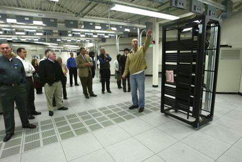 Centro de datos de Yahoo en Washington. Es una de las nueve empresas de internet señalados por el Washington Post con participación en el programa de espionaje llamado PRISM. (Foto: AP