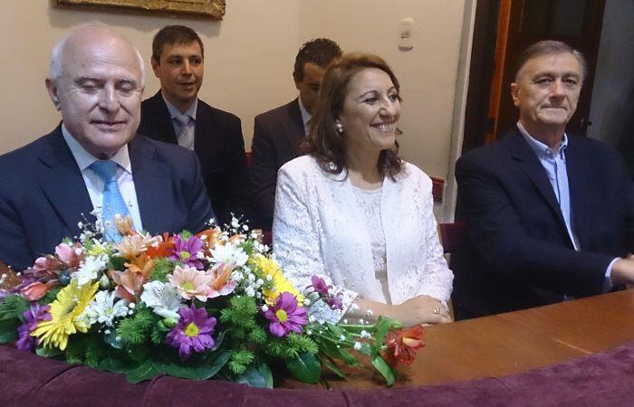 Fein asume el segundo mandato al frente de la Intendencia municipal.
