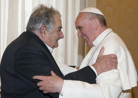 El Papa y el Pepe se reunieron en el Vaticano el primer día de este mes. (Foto: Reuters)
