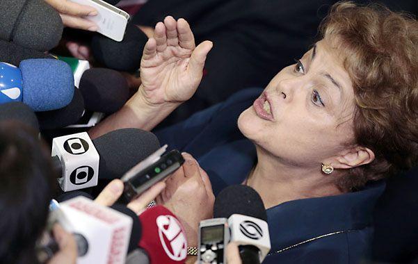 Bajo presión. La presidenta brasileña enfrenta un momento complicado de su gestión de gobierno.