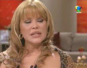 Nazarena Vélez confesó sus penas ante Mirtha