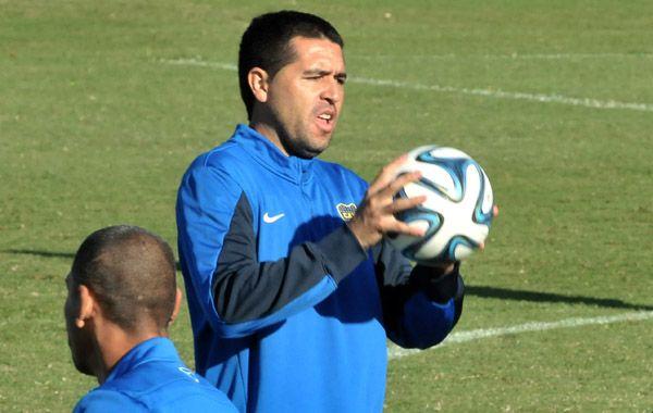 Riquelme termina su contrato con Boca el próximo 30 de junio.