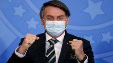 Bolsonaro paga en los sondeos su mala gestión de la pandemia, que siempre menospreció.