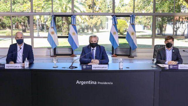 Alberto Fernández extendió las medidas restrictivas hasta el 30 de agosto