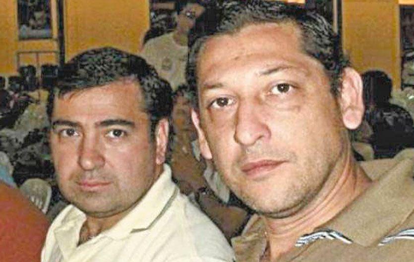 Acusados. Los comisarios Héctor Daniel Cabaña y Miguel Angel Espíndola.