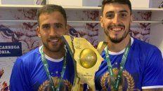 El ex-Unión Franco Fragapane, fue campeón en Brasil con Fortaleza.
