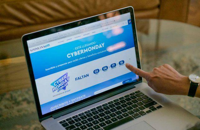 El Cyber Monday selleva adelante desde hoy y hasta el miércoles 4 de noviembre y participan más de 800 empresas.