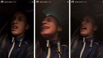 L-Gante posteó un video en el que dio su opinión sobre la agresión que sufrió cuando era saludado por el nacimiento de su hija.