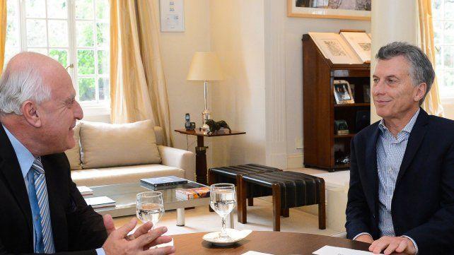 El 5 de octubre el presidente de la Nación Mauricio Macri recibe al gobernador de Santa Fe en Buenos Aires.