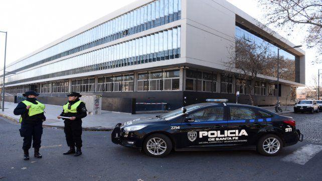 La audiencia en la que condenaron a Báez se realizó en el Centro de Justicia Penal.