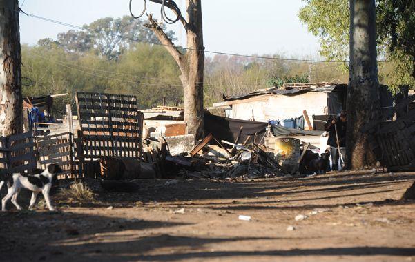 Casillas. El lugar donde mataron a Daniel Casas la madrugada del martes. (archivo / Sebastián Suárez Meccia)