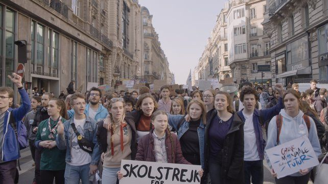"""""""Yo soy Greta"""". El documental sueco sobre la activista Greta Thuberg (centro)"""