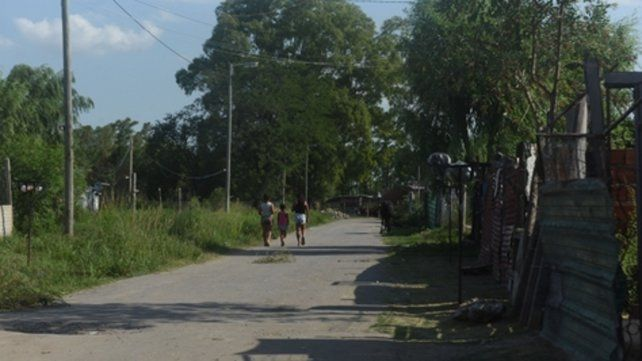 Extremo oeste. El crimen ocurrió el sábado a la 1 en Nochetto y Calasanz.