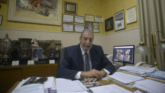 El máximo  dirigente. Mario Giammaría transformó la asociación en su gestión en la liga más importante del interior del país.