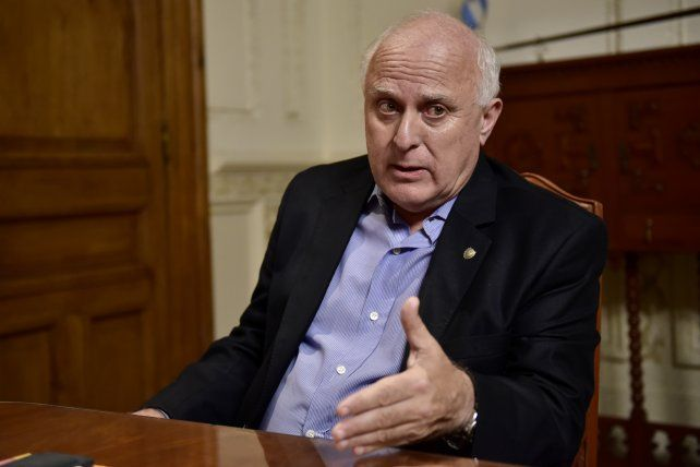 El gobernador Miguel Lifschitz.